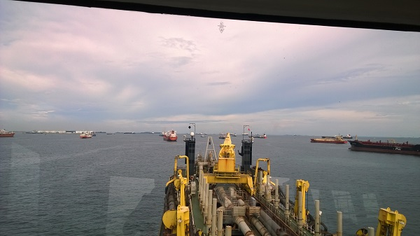 Panasonic PBX in a ship by  Assista Singapore